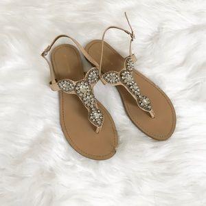 Max Studio Rhinestone Sandals